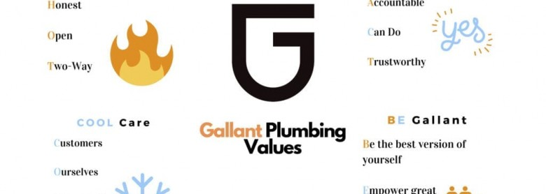 Plumbing Company Values – Why we have them and what they mean for us